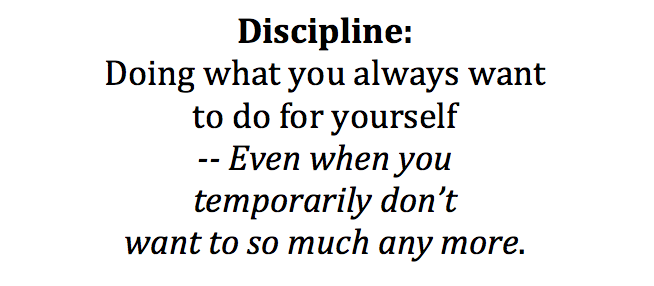 Discipline: It's Training, Not A Trick.