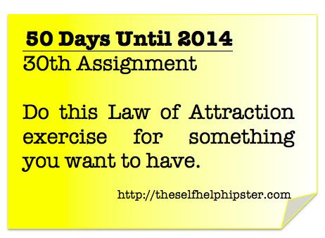 20 Days Until 2014: 30/50