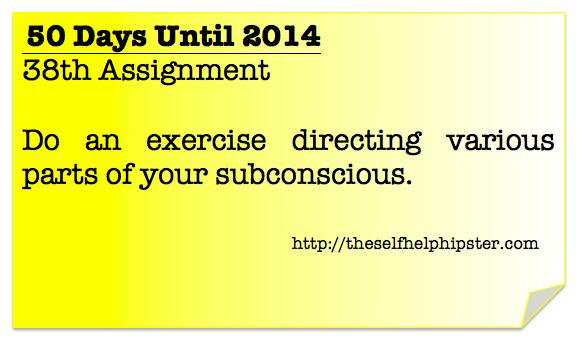 12 Days Until 2014: 38/50