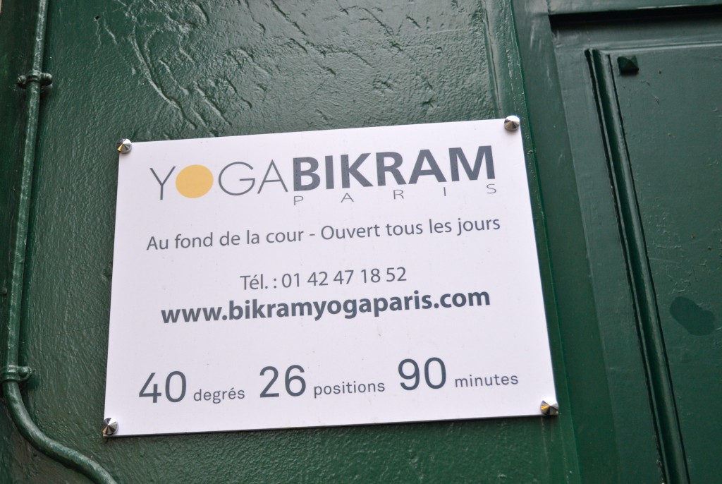 Yoga Studio Review: Yoga Bikram Paris