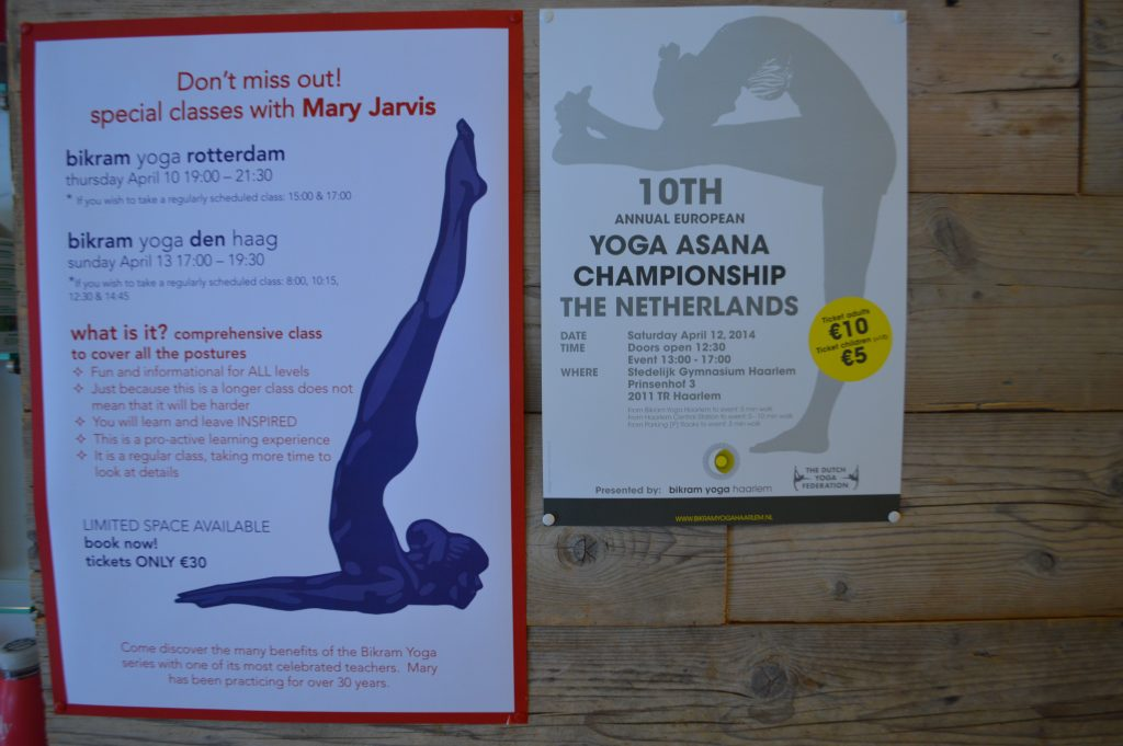 My Mary Jarvis Yoga Class