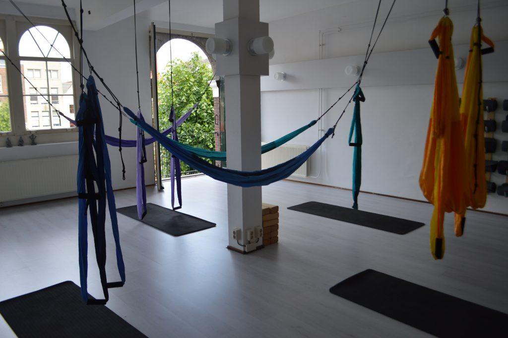 Review: Aerial Yoga Workshop