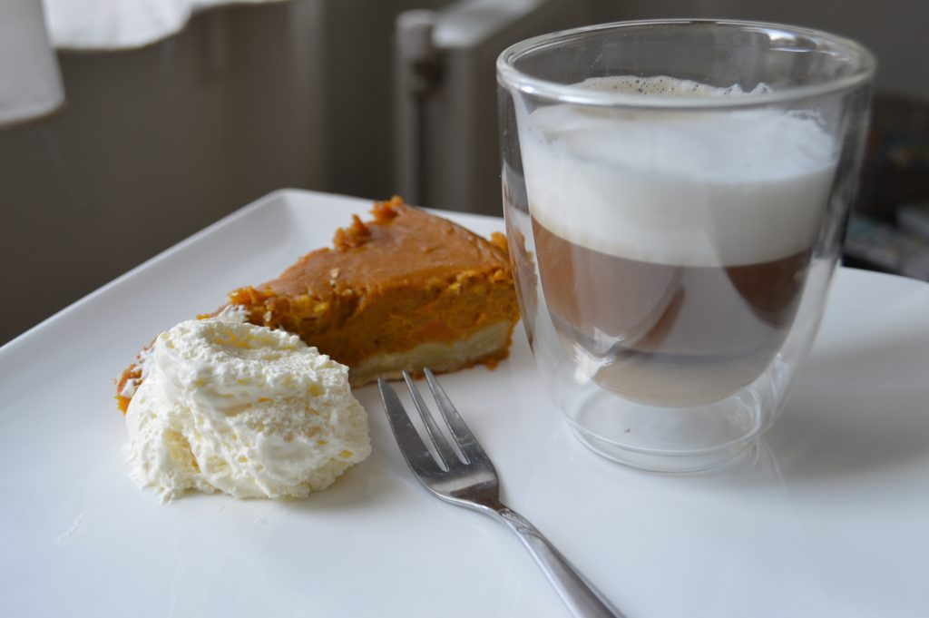Pumpkin Pie With Pumpkin Spice