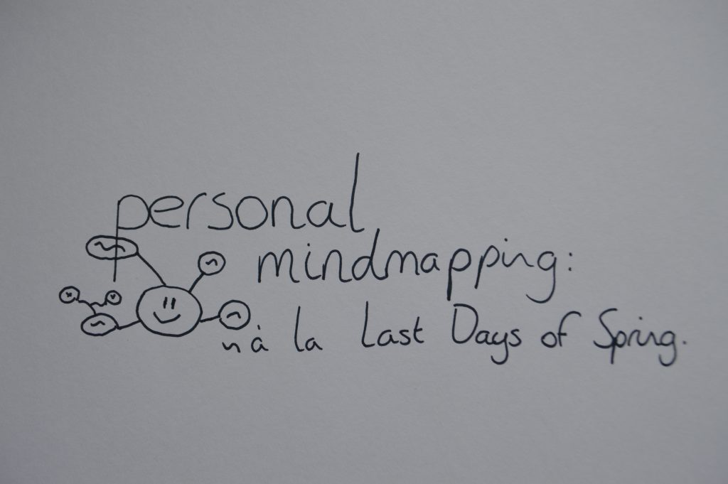 Using Personal Mind Mapping as Self Help