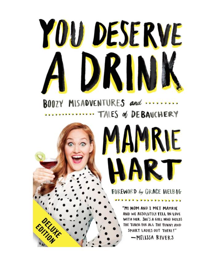 youdeserveadrink book YDAD Mamrie Hart