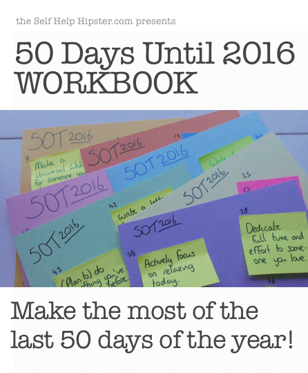 50 Days Until 2016 Workbook for Charity