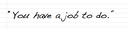 Law of Attraction: Your Job.