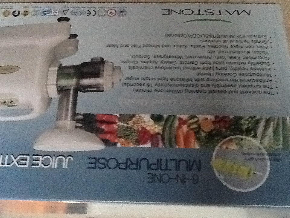 I'm taking it Slow: The New Juicer.