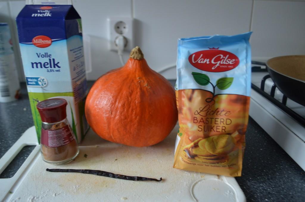 ingredients pumpkin filling