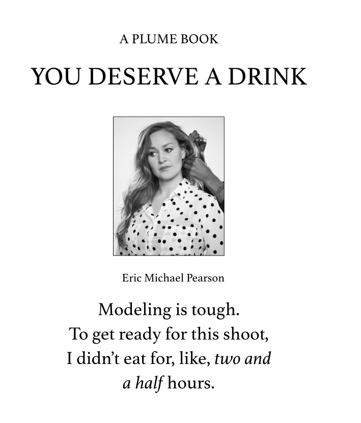 Review: You Deserve A Drink by Mamrie Hart