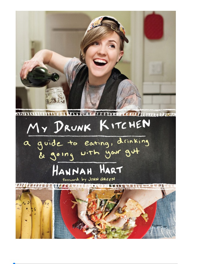 Hannah Hart's My Drunk Kitchen Book Review