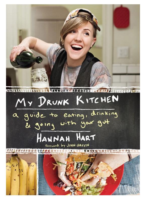 my drunk kitchen book 1