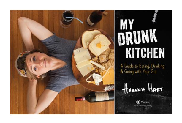my drunk kitchen book